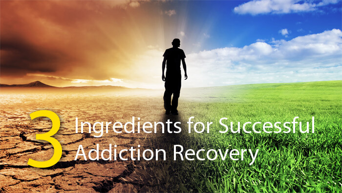 Three Ingrediants For Successful Addiction Recovery