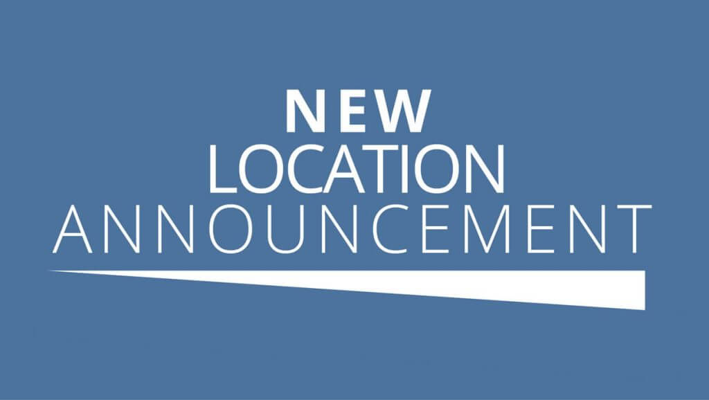 New Location Press Release
