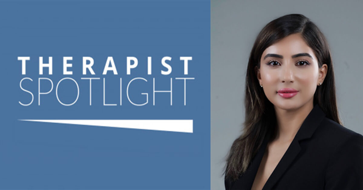 Therapist Spotlight - Farah Zaobi